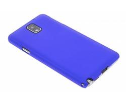 Blauw effen hardcase Samsung Galaxy Note 3