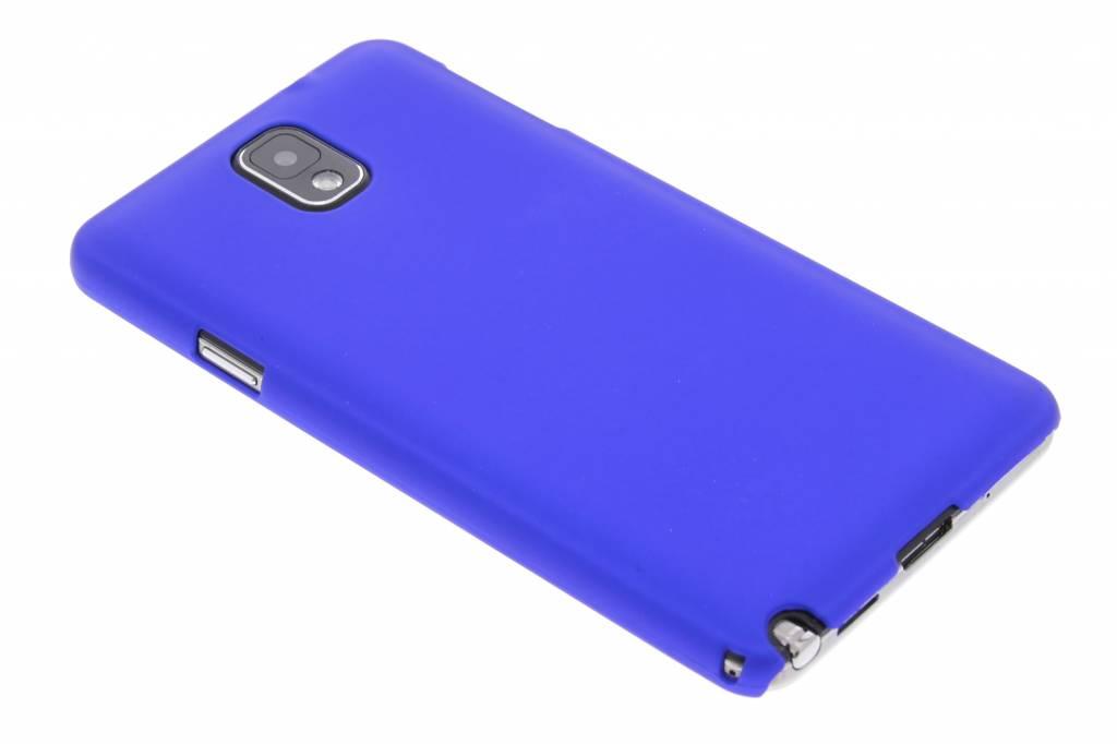 Blauw effen hardcase hoesje voor de Samsung Galaxy Note 3