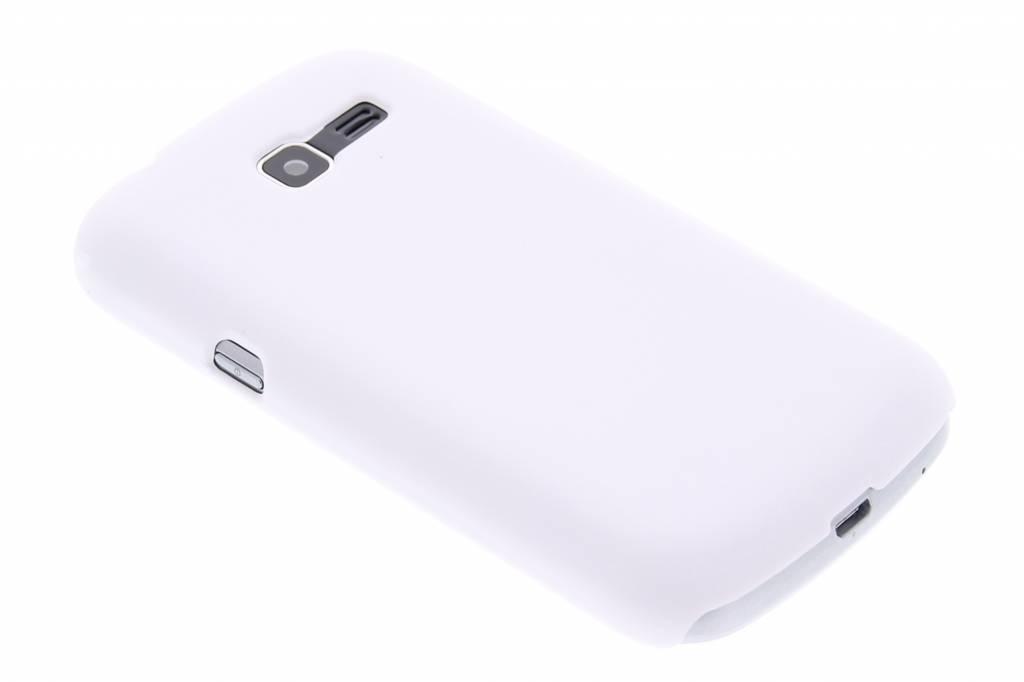 Wit effen hardcase hoesje voor de Samsung Galaxy Trend Lite S7390