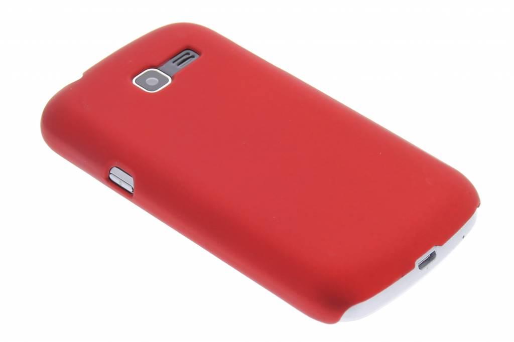 Rood effen hardcase hoesje voor de Samsung Galaxy Trend Lite S7390