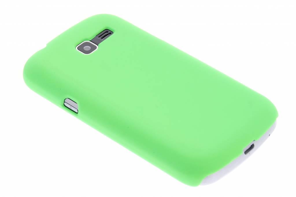 Groen effen hardcase hoesje voor de Samsung Galaxy Trend Lite S7390