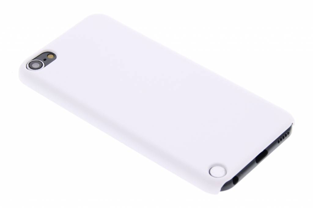 Wit effen hardcase hoesje voor de iPod Touch 5g / 6