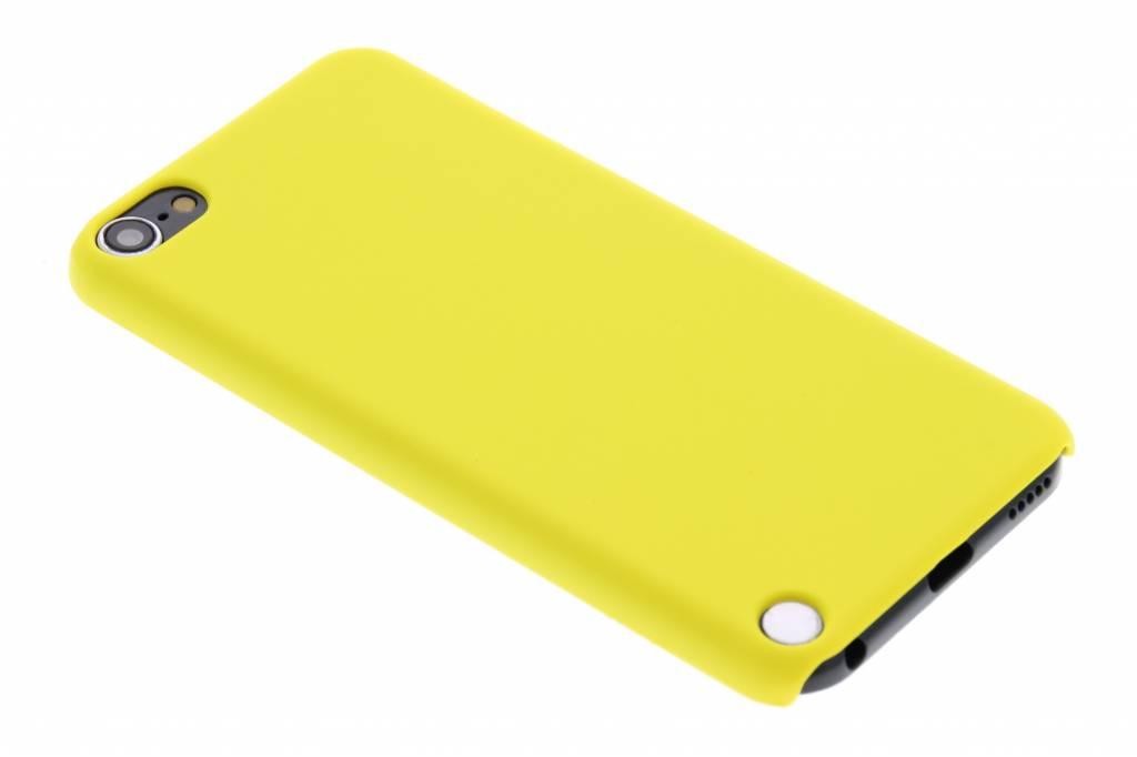 Geel effen hardcase hoesje voor de iPod Touch 5g / 6
