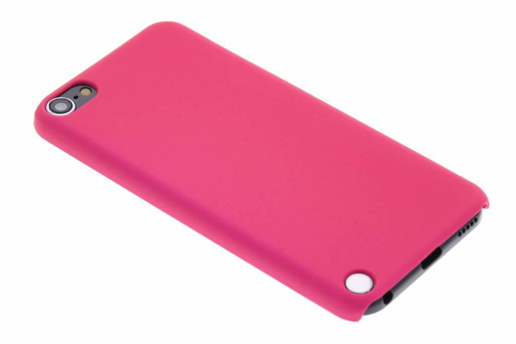 Fuchsia effen hardcase hoesje voor de iPod Touch 5g / 6