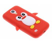 Pinguin siliconen hoesje Samsung Galaxy S4 Mini