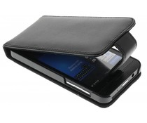 Zwart stijlvolle flipcase Blackberry Z10