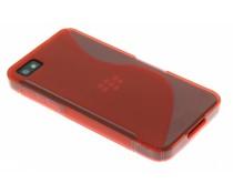 Rood S-line TPU hoesje Blackberry Z10