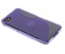 Paars S-line TPU hoesje Blackberry Z10