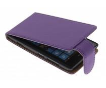 Paars classic flipcase Nokia Lumia 520