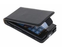Zwart luxe flipcase Nokia Lumia 520 / 525