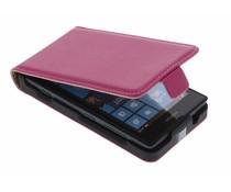 Fuchsia luxe flipcase Nokia Lumia 520 / 525