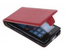 Rood luxe flipcase Nokia Lumia 520 / 525