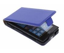 Blauw luxe flipcase Nokia Lumia 520