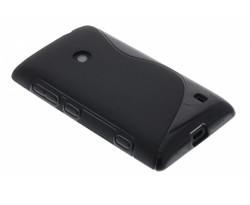 Zwart S-line TPU hoesje Nokia Lumia 520