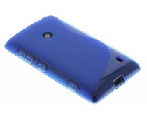 Blauw S-line TPU hoesje Nokia Lumia 520 / 525