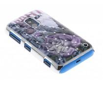 Bloem design hardcase hoesje met strass Nokia Lumia 620