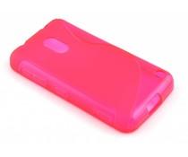 Rosé S-line TPU hoesje Nokia Lumia 620