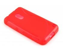 Rood S-line TPU hoesje Nokia Lumia 620