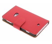 Rood matte booktype Nokia Lumia 625