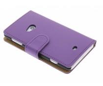 Paars matte booktype Nokia Lumia 625