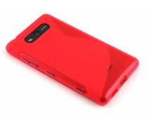 Rosé S-line TPU hoesje Nokia Lumia 820
