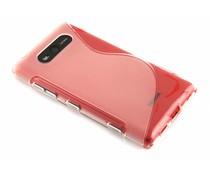Transparant S-line TPU hoesje Nokia Lumia 820