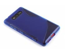 Blauw S-line TPU hoesje Nokia Lumia 820