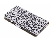 Luipaard design booktype hoes Samsung Galaxy Note 3
