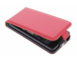 Rood luxe flipcase Huawei Ascend G510