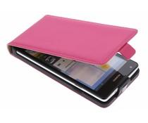 Mobiparts Premium flipcase Huawei Ascend G700 - Pink