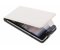 Mobiparts Premium flipcase Huawei Ascend G700 - White