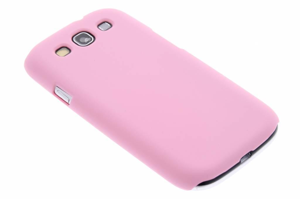Matte, rozegekleurde, dunne hardcase voor Samsung Galaxy S3 / Neo