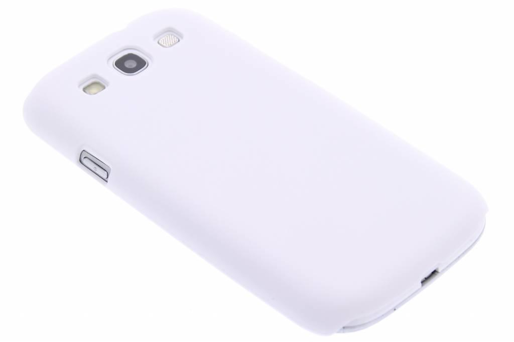 Wit effen hardcase Samsung Galaxy S3 / Neo
