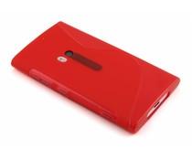 Rood S-line TPU hoesje Lumia 920