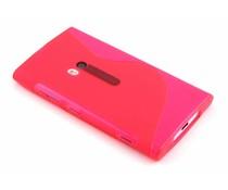 Rosé S-line TPU hoesje Nokia Lumia 920