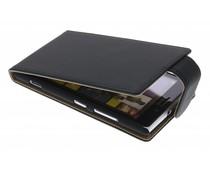 Zwart classic flipcase Nokia Lumia 925