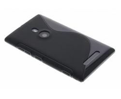 Zwart TPU S-line hoesje Nokia Lumia 925