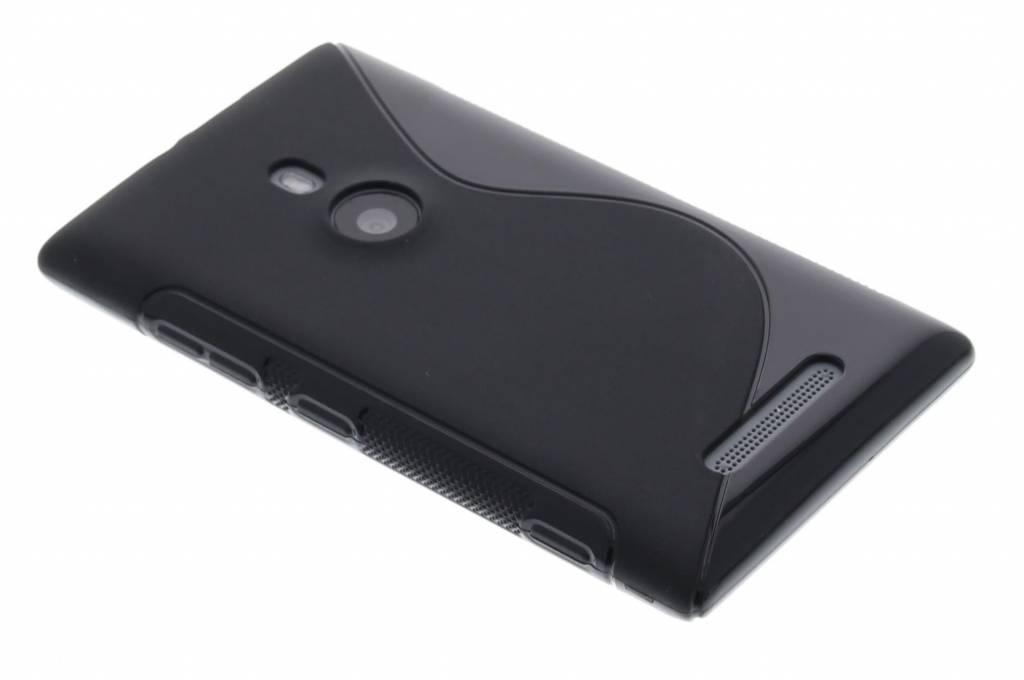 Zwart TPU S-line hoesje voor de Nokia Lumia 925