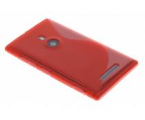 Rood TPU S-line hoesje Nokia Lumia 925