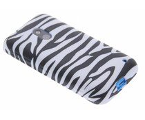Zebra TPU siliconen hoesje Nokia Lumia 620