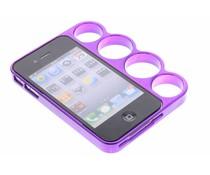 Paars boksbeugel bumper iPhone 4 / 4s