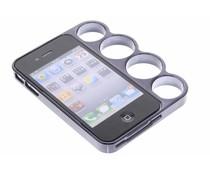 Zwart boksbeugel bumper iPhone 4 / 4s
