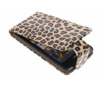 Bruin luipaard flipcase Huawei Ascend G510