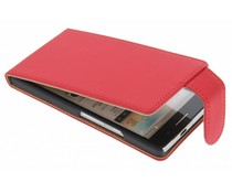 Rood classic flipcase Huawei Ascend P6 / P6s