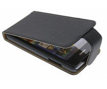 Zwart classic flipcase Huawei Ascend Y300