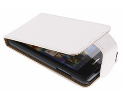 Wit classic flipcase Huawei Ascend Y300