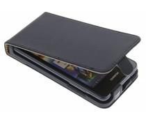 Zwart luxe flipcase Huawei Ascend Y300