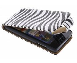 Zebra flipcase Huawei Y300