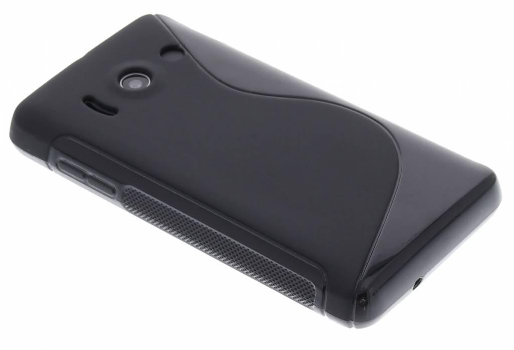 Cas Simple Flip Noir Pour Huawei Ascend Y550 O4LqLZ