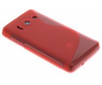 Rood TPU S-Line hoesje Huawei Ascend Y300